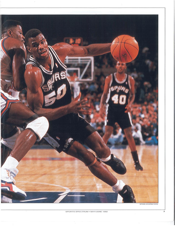 Throwback Thursday May June 1992 David Robinson Sports