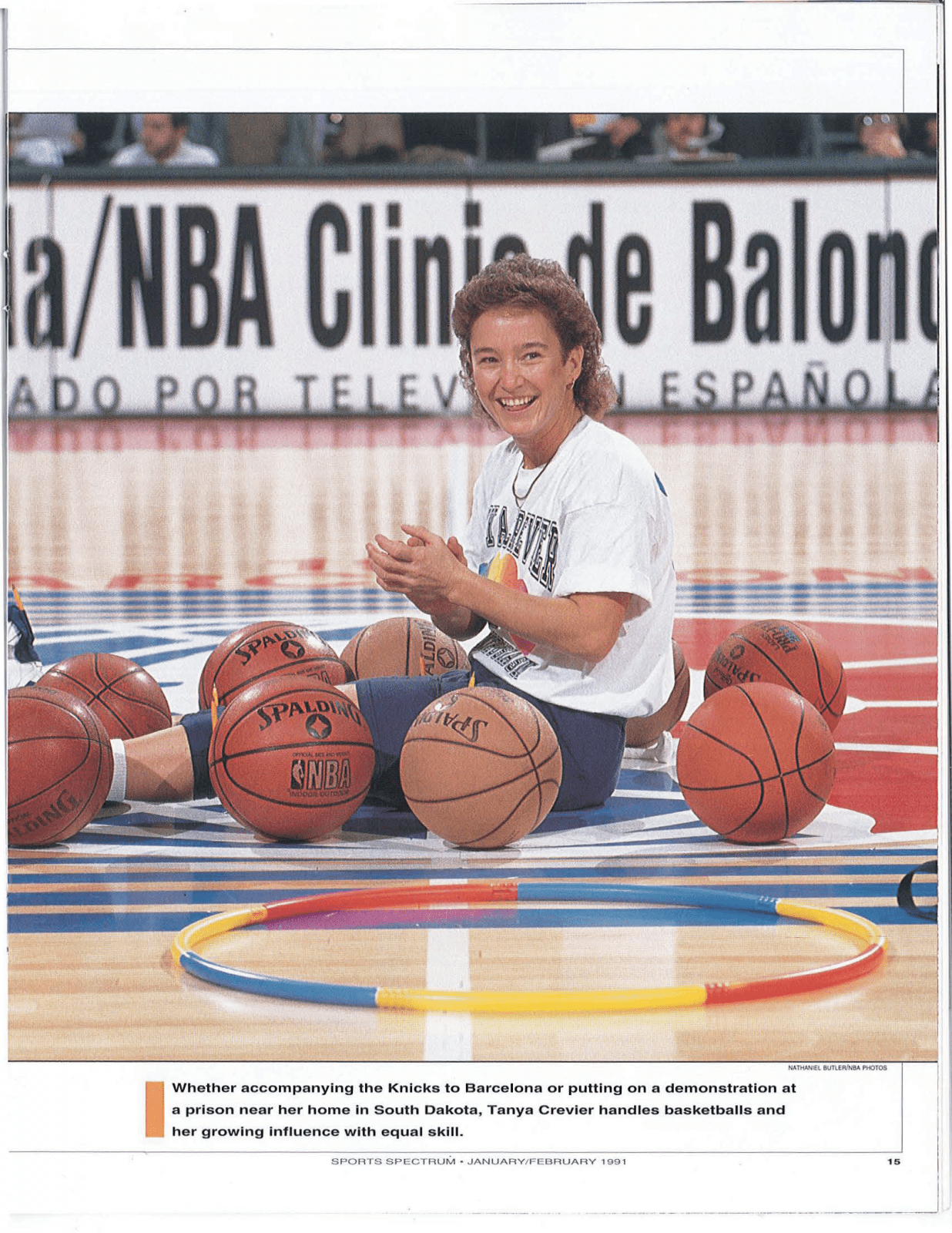 Throwback Thursday: Tanya Crevier, January 1991 - Sports Spectrum ...
