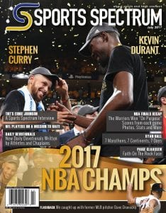 Sports Spectrum July 2017 Cover