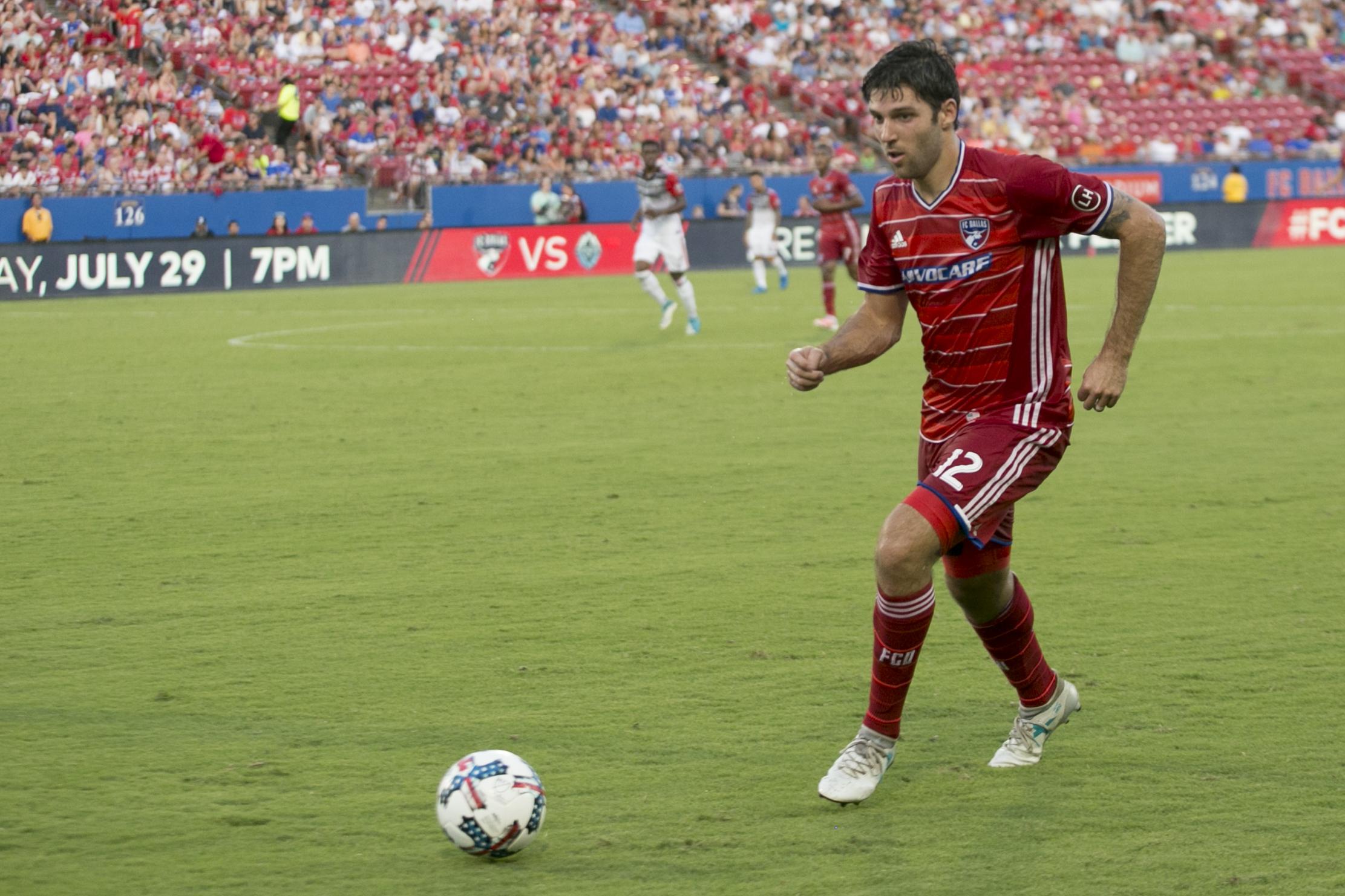 new podcast ryan hollingshead fc dallas mls soccer player